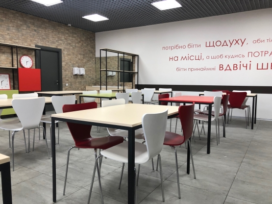 Нова Пошта – кафе для працівників