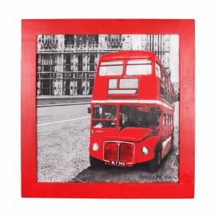 Панно текстильное Bus