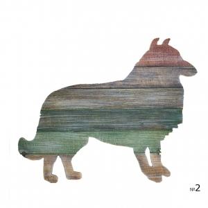 Декор Радужный Пес