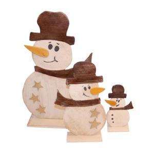 Декоративний сніговик Ліон