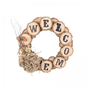 Декоративный венок Welcome