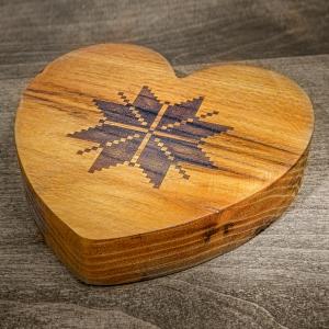 Доска для подачи Сердце Этно
