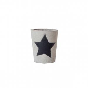 Кашпо бетонное Звезда