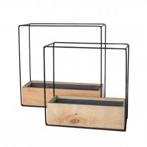 Кашпо Iron Cube