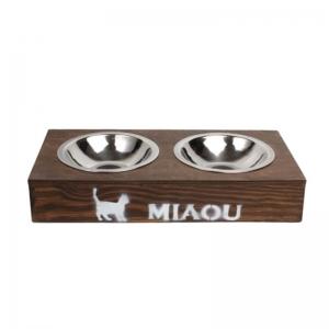 Кормушка для котов Мяу