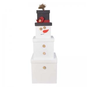 Набор подарочных коробок Снеговик