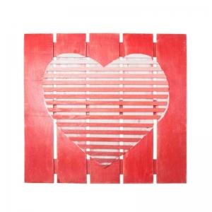 Панно настенное Сердце Горизонталь