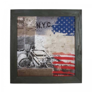 Панно текстильное N.Y.C. Cycle
