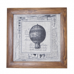 Панно текстильное Воздушный шар