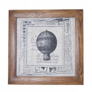 Панно текстильне Повітряна куля
