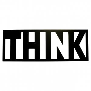 Постер Think