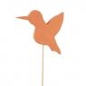 Стикер флористический Пташка 5
