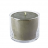 Свеча в стеклянной вазе 10