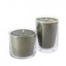 Свеча в стеклянной вазе 12