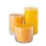 Свеча в стеклянной вазе 16