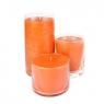 Свеча в стеклянной вазе 4