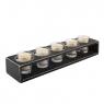 Подсвечник Антверпен mini со свечами 4