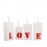 Ваза для цветов LOVE 3