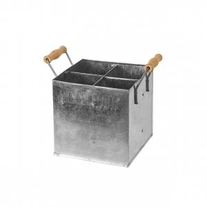 Ящик для вина металлический с ручками