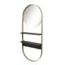 Зеркало Ring с полочками