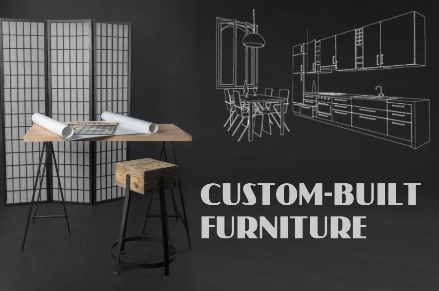 Custom order of furniture and decor