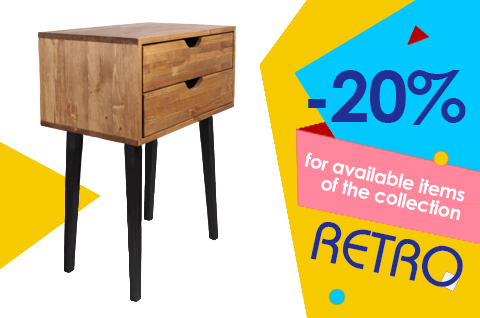 RETRO Collection: 20% OFF